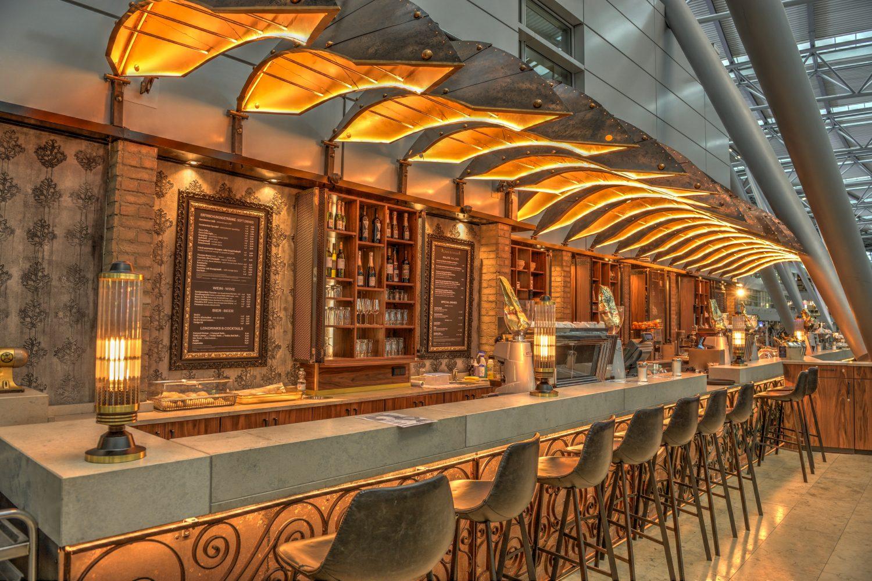 Bazzar Caffè im Flughafen Düsseldorf