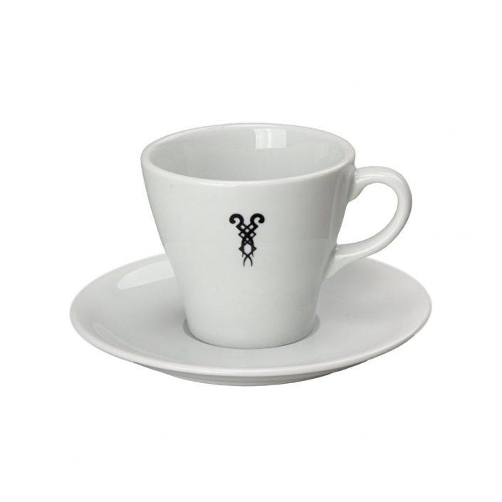 Kaffeetasse mit Bazzar Logo